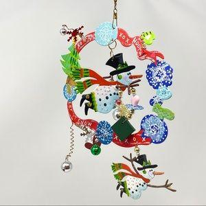 Silvestri Flights of Fancy Snowman Ornament